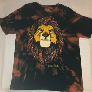 Disney Lion King T-Shirt Tie Dye Size XL.